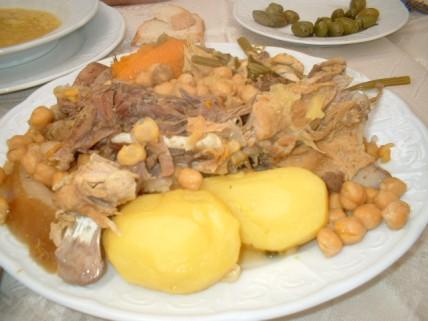 Cocido Madrileño...YUMMMMM