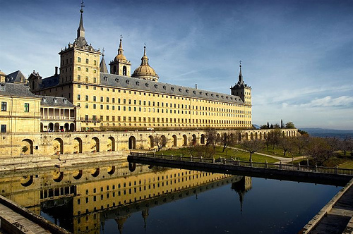 The beautiful El Escorial monastery.Source